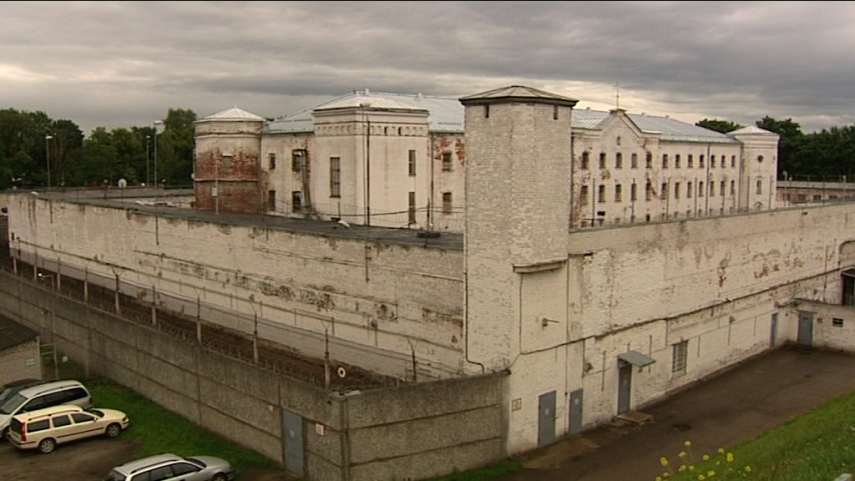 LOOKING IN: Prison in Daugavgriva, Daugavpils, Latvia, 2014. Capacity: 947