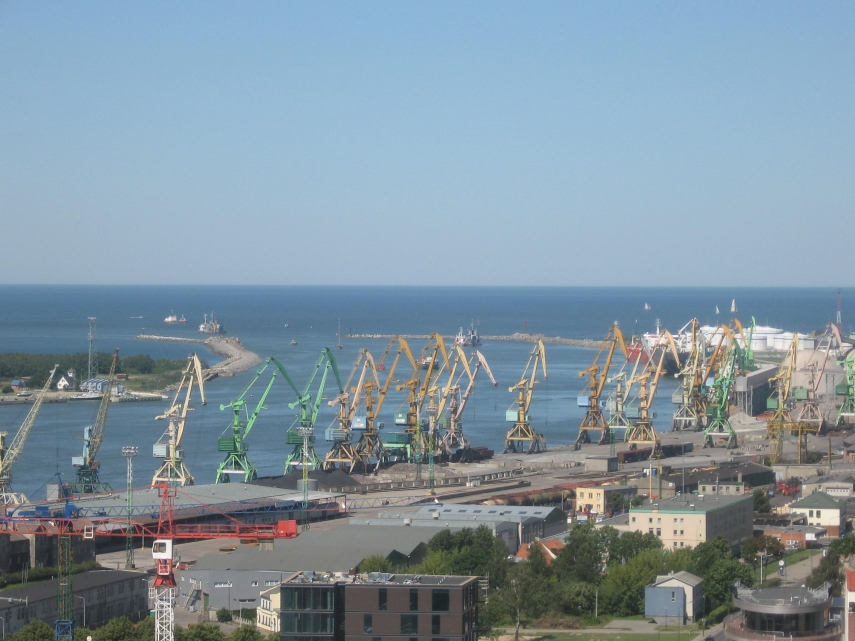 Klaipeda port, where the recently-opened LNG terminal is located. Photo: Creative Commons