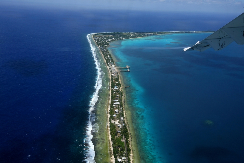 Tuvalu, an island nation with a population of just 10,000