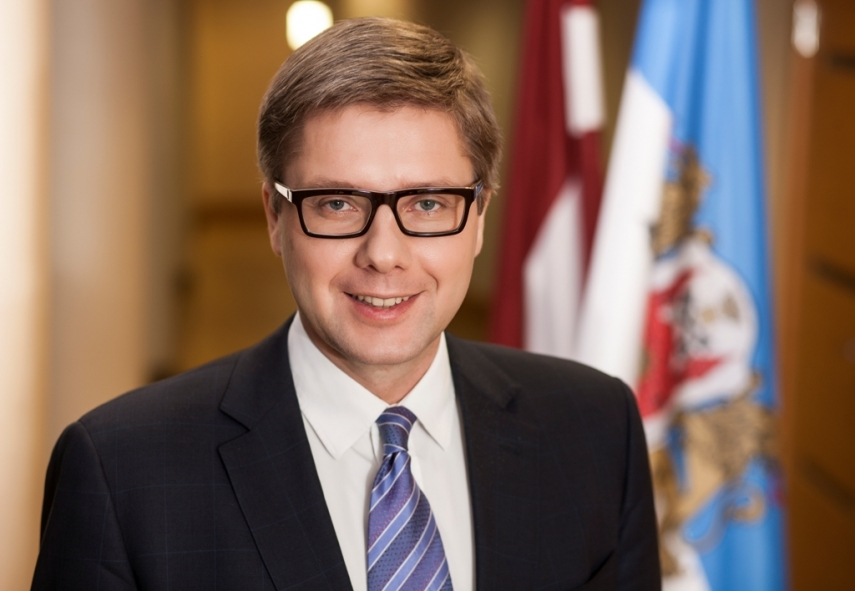 Nils Usakovs, mayor of Latvia's capital since 2009