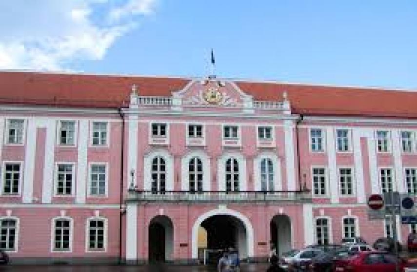 The Riigikogu (Parliament) in Tallinn [Photo: Creative Commons]