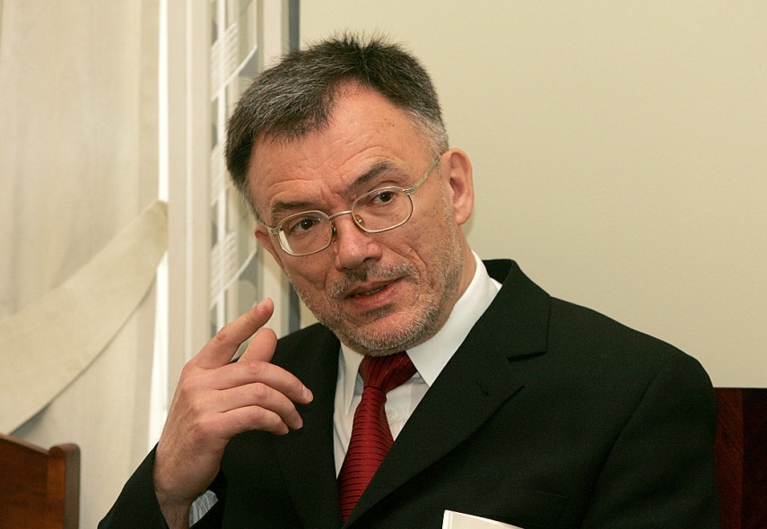 Petras Vaitiekunas, Lithuania's outgoing ambassador to Ukraine [Photo: Lyrtas]