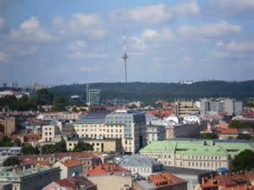The TV tower in Vilnius, Lithuania's capital [Photo: Creative Commons]