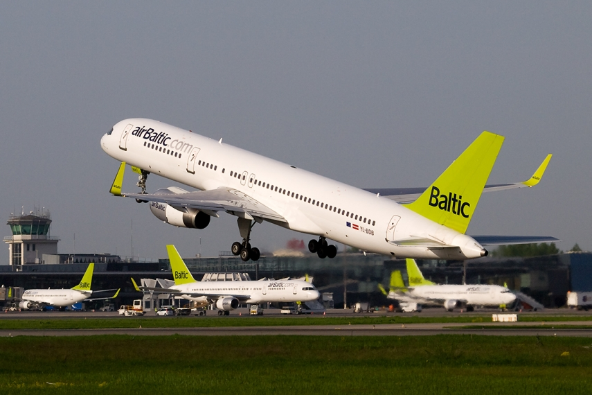 An airBaltic plane [Photo: Creative Commons]