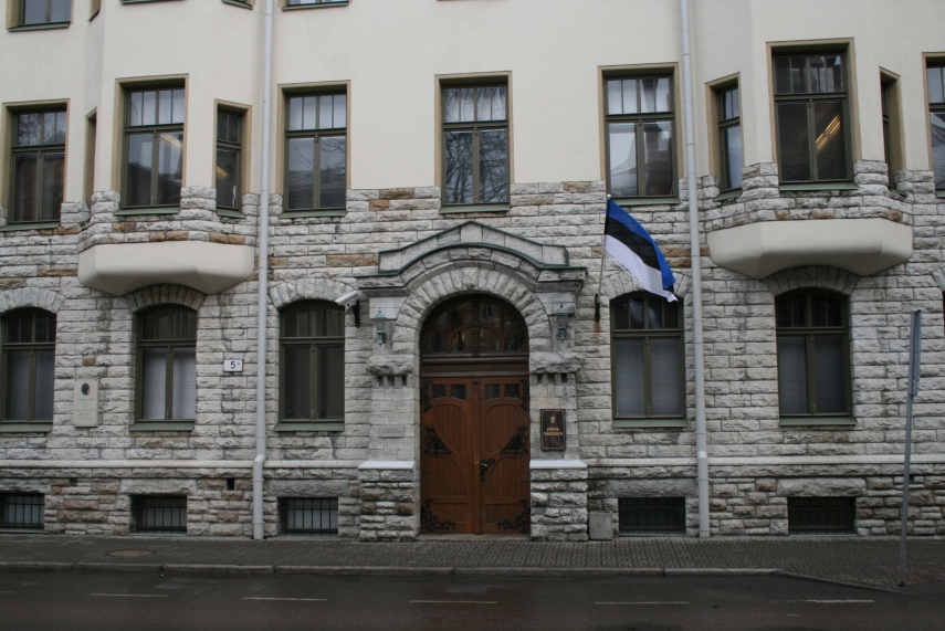 The Estonian Ministry of Justice building in Tallinn [Photo: just.ee]