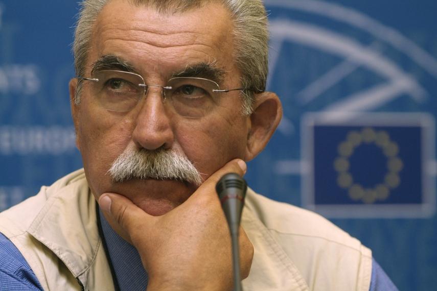 Giuletto Chiesa, Italian journalist and former member of the European Parliament [Image: linkiesta.lt]
