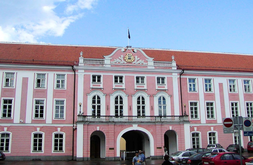 The building of the Riigikogu, Estonia's parliament, in Tallinn [Photo: Creative Commons]