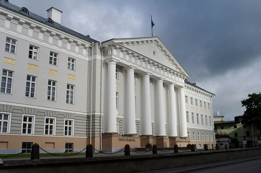 The main building of the University of Tartu [Image: Creative Commons]
