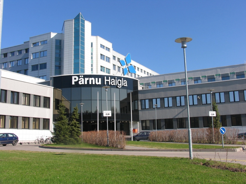 Hospital in Parnu, south-western Estonia