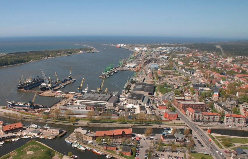 The port of Klaipeda in western Lithuania [Photo: worldccp.com]