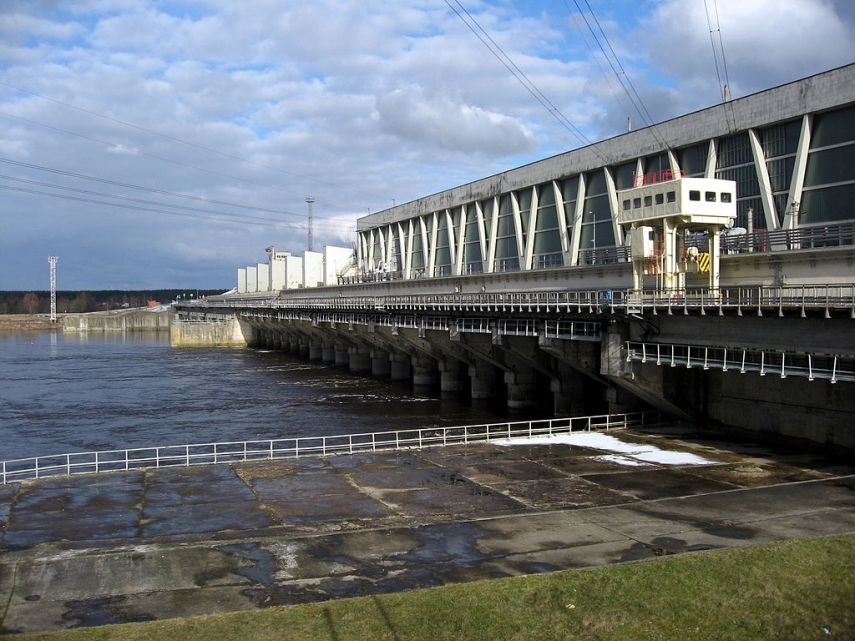 Riga Hydroelectric Power Plant in Salaspils, Latvia [Image: Creative Commons]