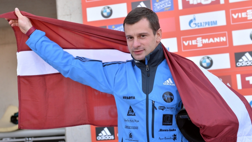 Martins Dukurs, current skeleton racing world champion [Image: skaties.lv]