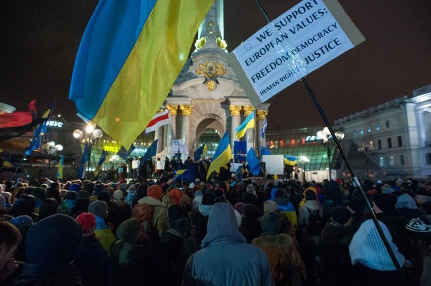 Protests in Kiev in November 2013 [Image: Creative Commons]