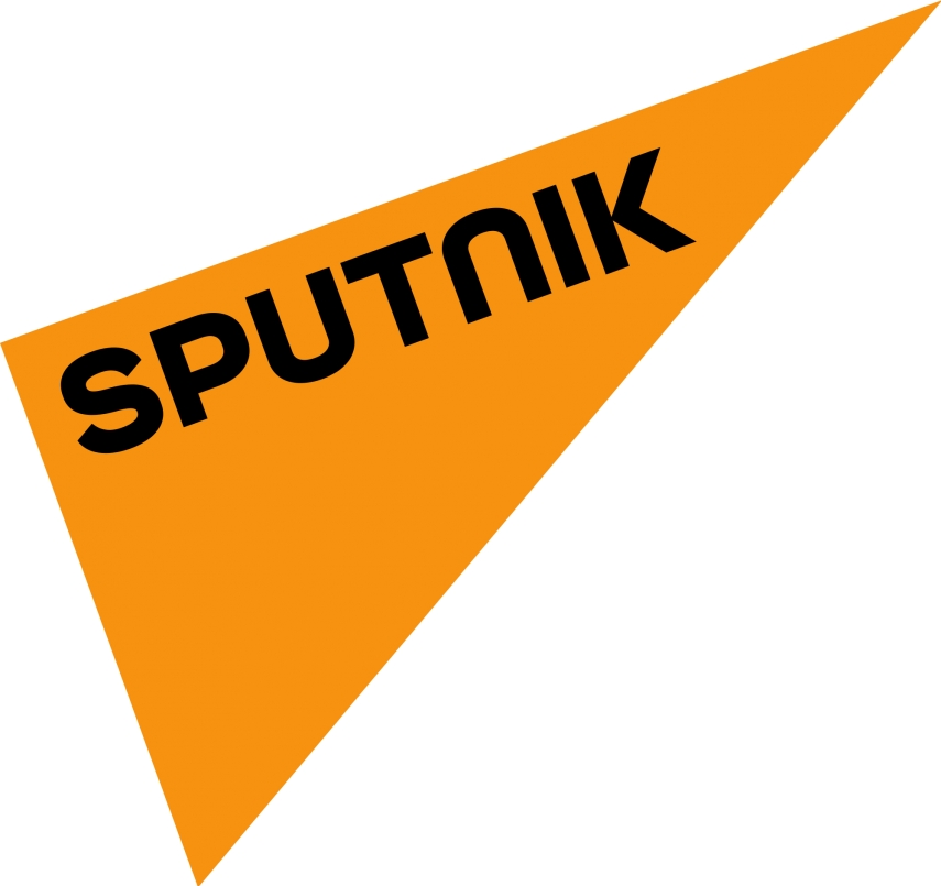 The logo of Sputnik, the recently launched news service