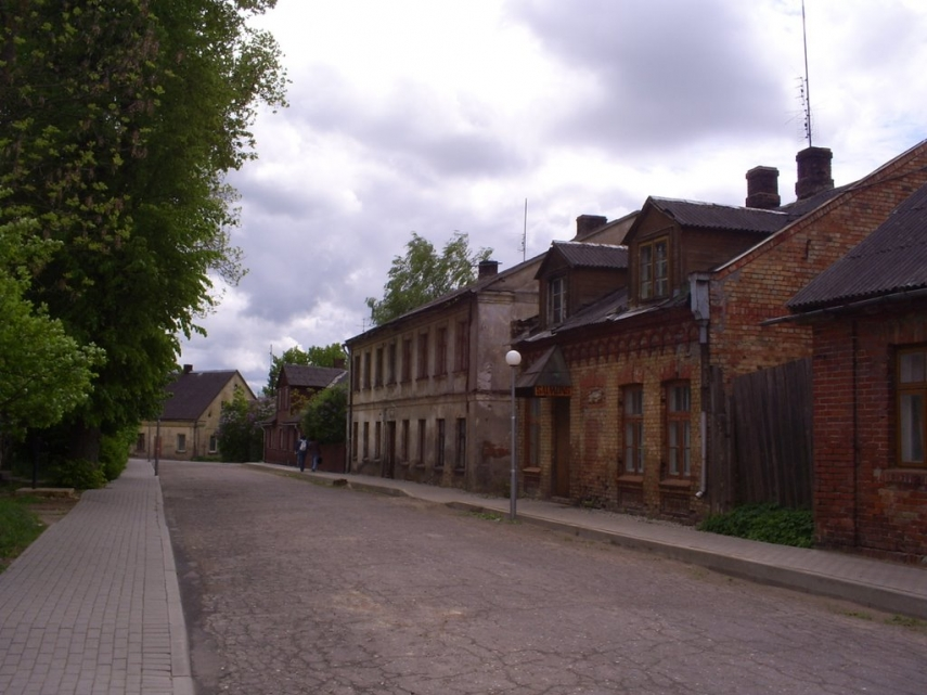 A street in Auce, southern Latvia [Image: Panoramio]
