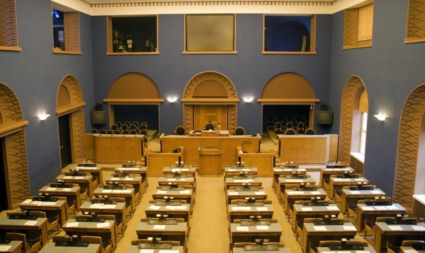 The Riigikogu in Tallinn, Estonia's parliament [Image: Creative Commons]
