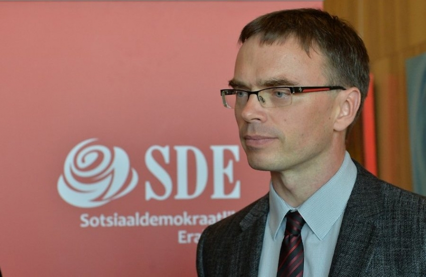 Sven Mikser, leader of the Social Democrats, who are to take part in coalition talks [Image: Creative Commons]