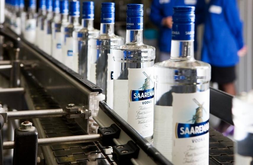 Saaremaa Vodka, produced in Estonia [Image: delfi.ee]