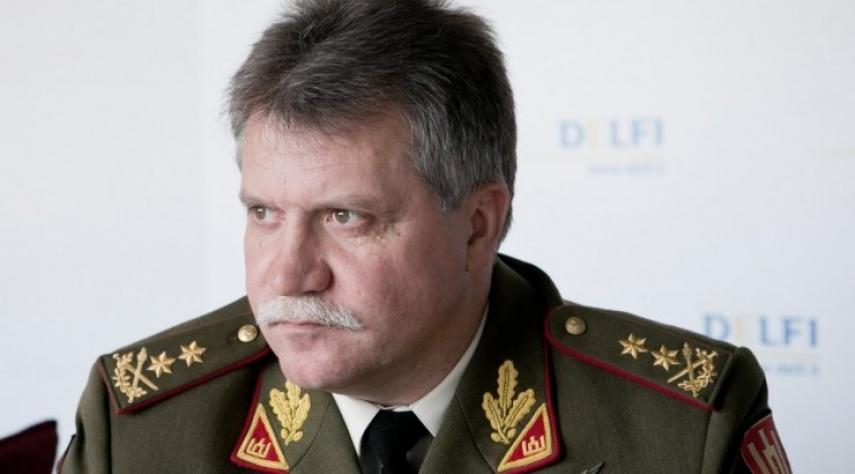Jonas Vytautas Zukas, Lithuania's Chief of Defence [Image: delfi.lt]