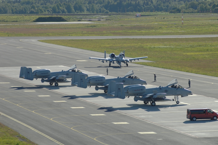Amari air base in northern Estonia, where the US Air Force will be hosted [Image: Creative Commons]
