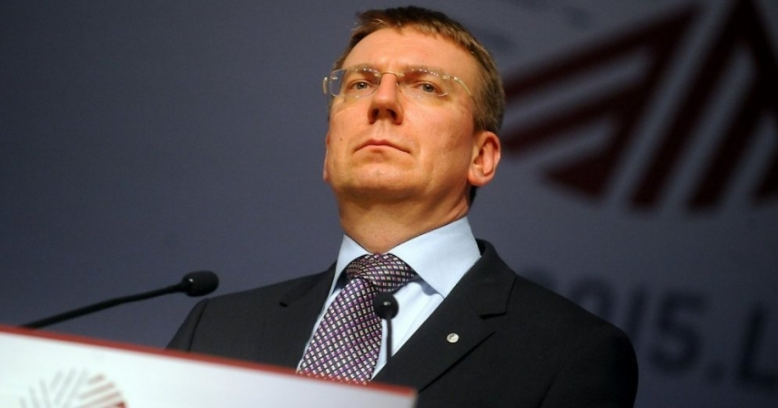 Edgars Rinkevics, Latvia's Foreign Minister [Image: Creative Commons]