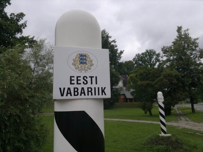 Border post in Valga, southern Estonia [Image: panoramio]