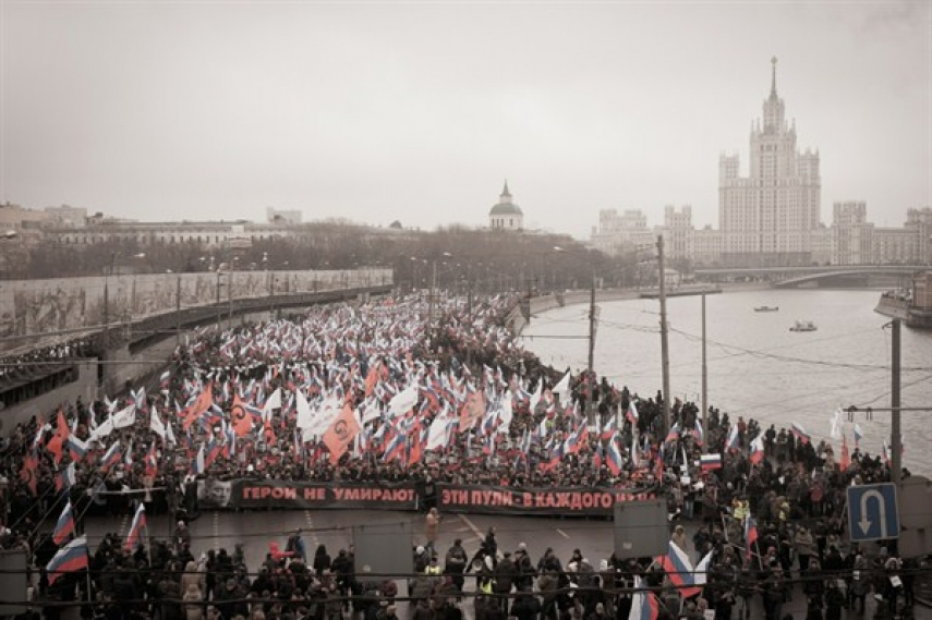 A rally to commemorate Boris Nemtsov [Image: Creative Commons]