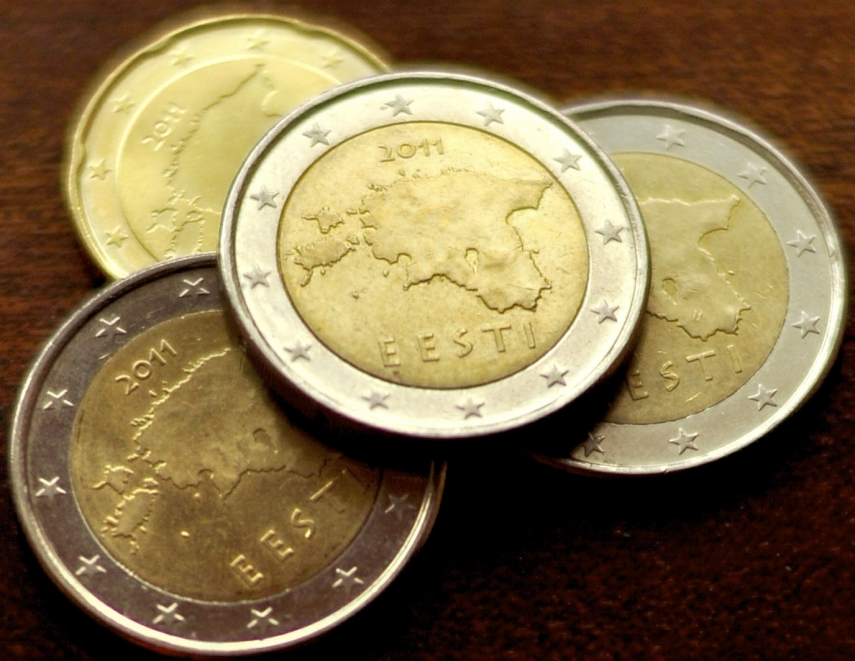 Estonian euro coins [Image: curriencies.wikia.com]