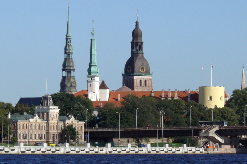 The most expensive of the three... Latvia's capital [Image: Creative Commons]