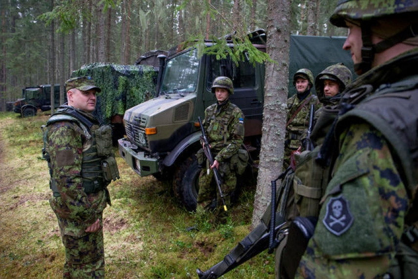 Operation Steadfast Javelin, currently taking place in Estonia [Image: Estonian Defence Forces]