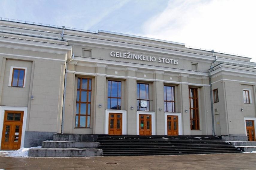 Kaunas railway station [Image: delfi.lt]
