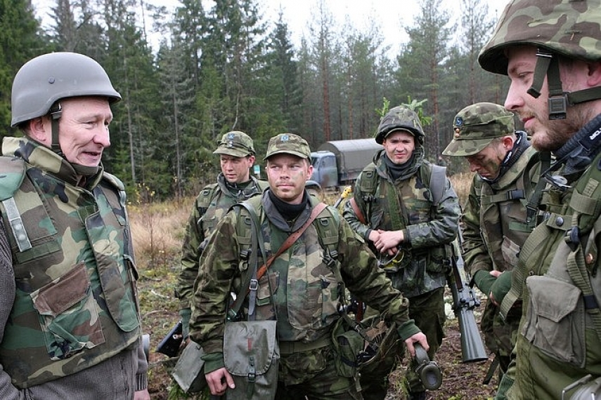 Participants in the Siil defence exercise [Image: mil.ee]