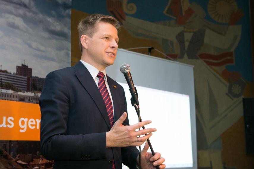 Vilnius' mayor, Remigijus Šimašius [Image: zinios.tv3.lt]