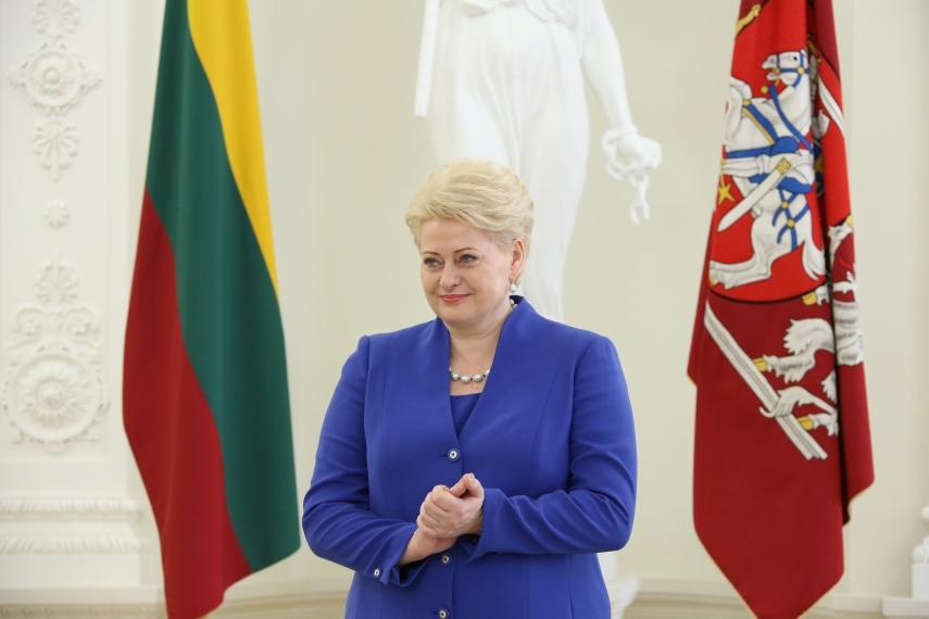 Lithuanian president Dalia Grybauskaite [Image: lrp.lt]