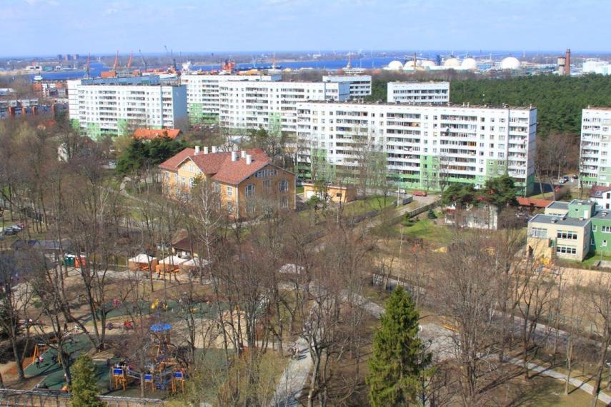 Apartment block in Riga's Vecmilgravis neighbourhood [Image: cityriga.lv]