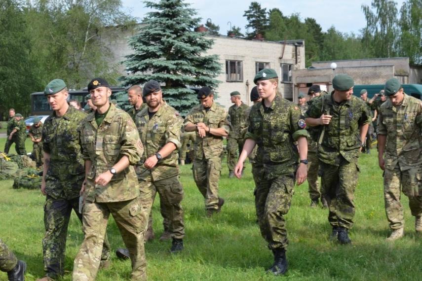 Allied troops during Saber Strike 2014 [Image: kariuomene.kam.lt]