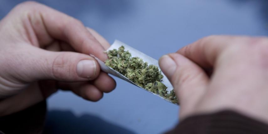 An online petition calling for the decriminalisation of marijuana has been put to the Saeima [Image: huffingtonpost.com]