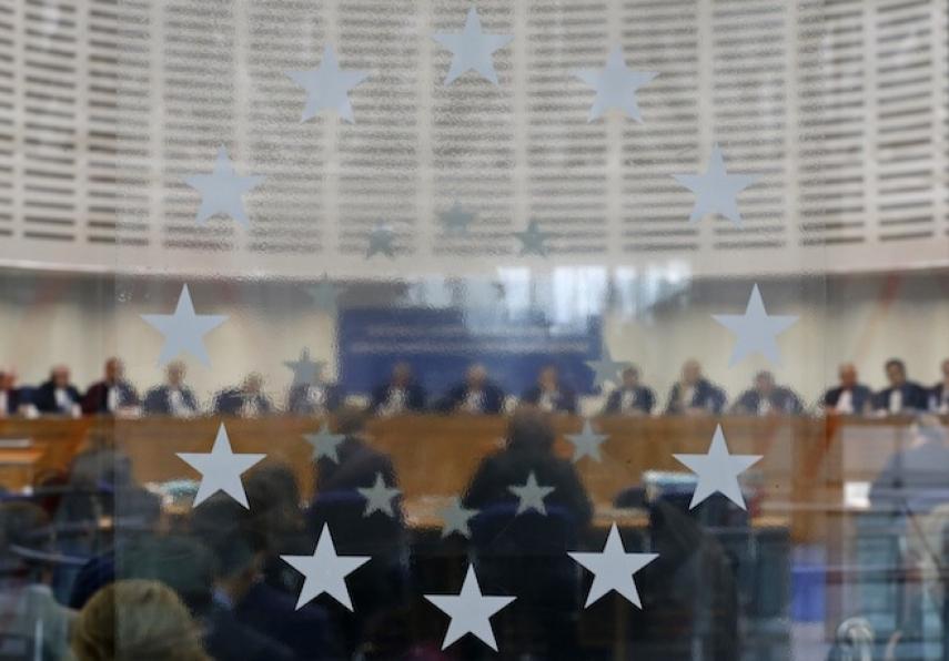 Judges at the European Court of Human Rights [Image: Vincent Kessler/Reuters]