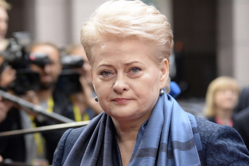 Dalia Grybauskaite is unhappy with the European Commission's refugee quotas [Image: nypost.com]
