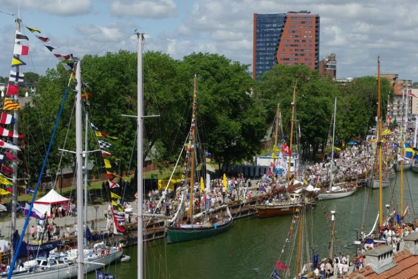 SETTING SAIL: The Lithuanian seaport town of Klaipeda has had a rich maritime tradition for many centuries.