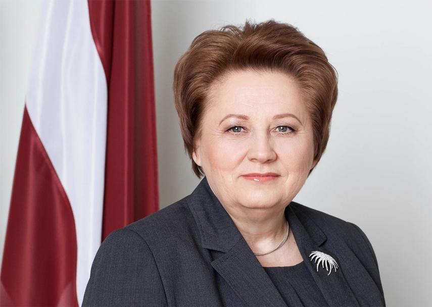 Latvian Prime Minister Prime Minister Laimdota Straujuma [Image: latviansonline.com]