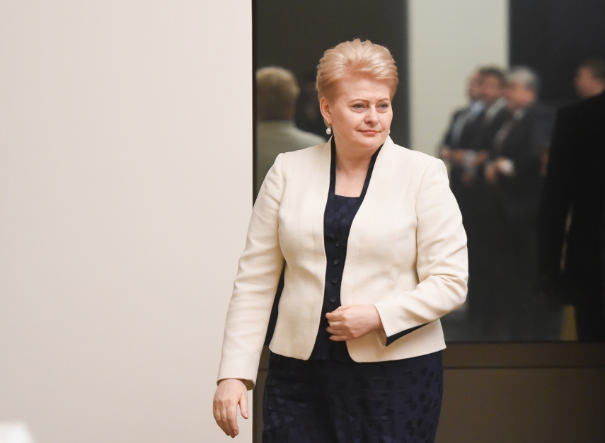 Dalia Grybauskaite [Image: lrp.lt]