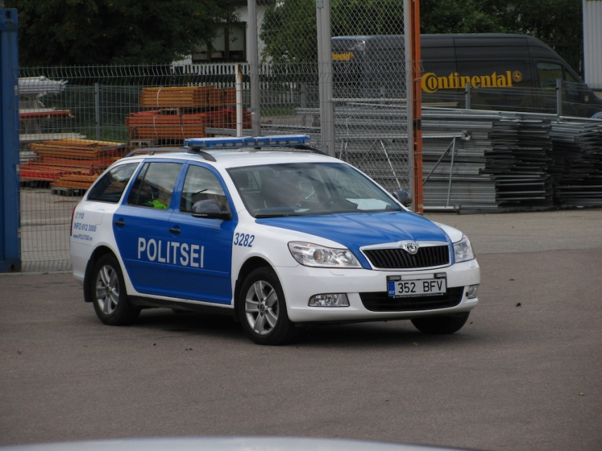 Estonian Police Car [Image: Wiki Commons]