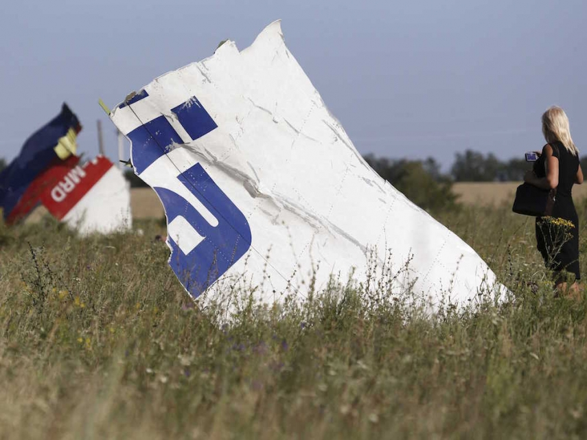 Wreckage from the MH17 disaster [Image: Business Insider]