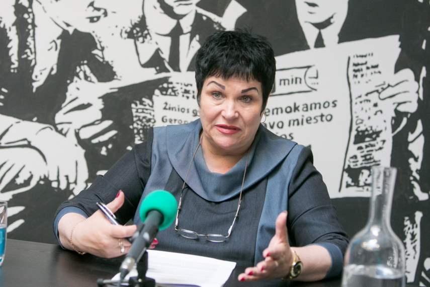 Education and Science Minister Audrone Pitreniene [Image: 15min.lt]