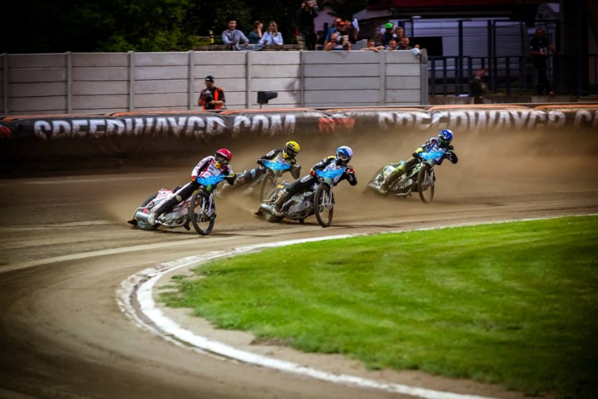 TURNING A CORNER: Speedway is going through a revival in Lavia.