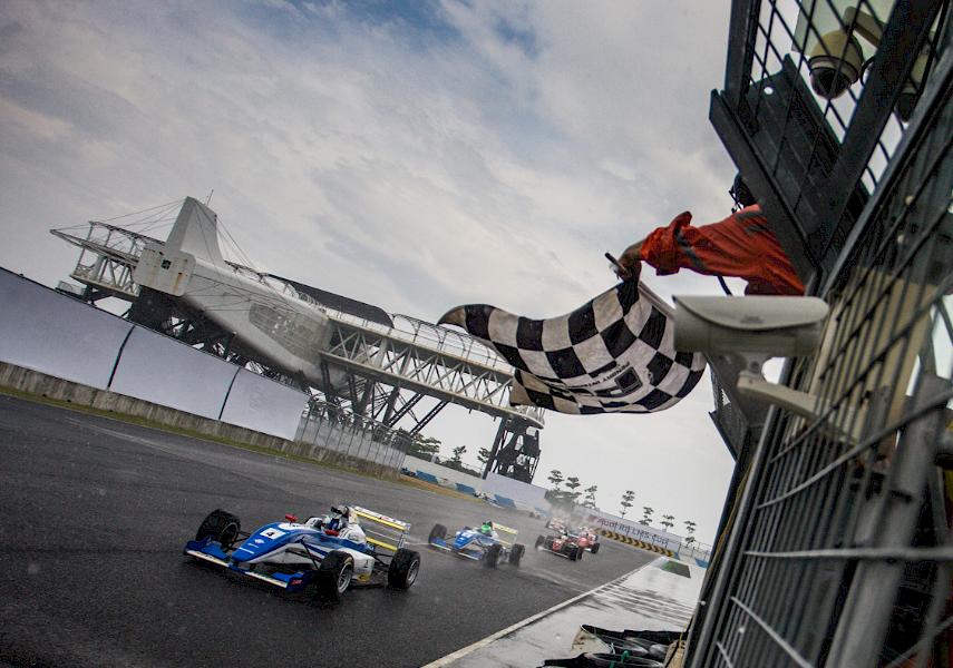 NEED FOR SPEED: 19 year old Estonian race driver Martin Rump winning in Taiwan.