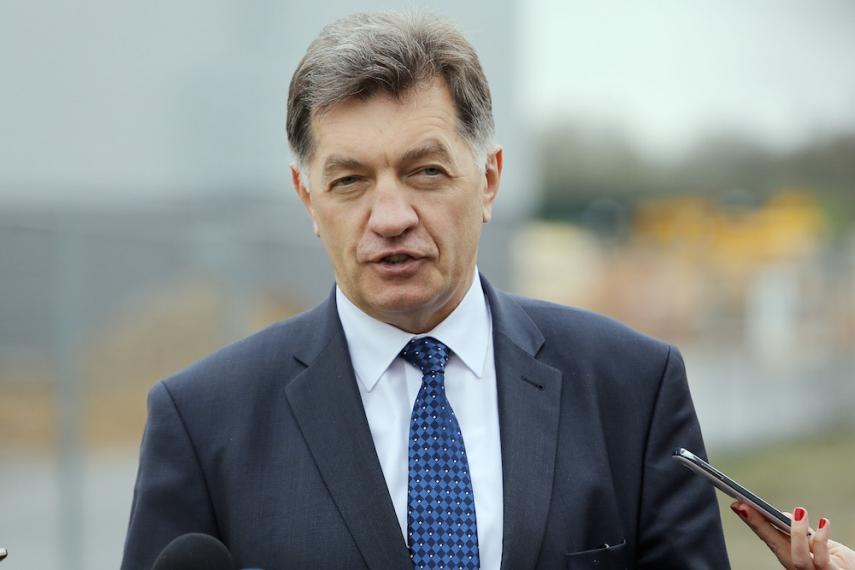 Prime Minister Algirdas Butkevicius [Image: Kauno Diena]