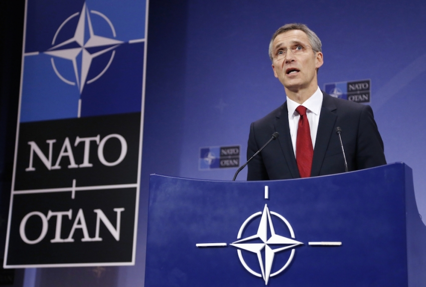 NATO Secretary Jens Stoltenberg will open the Lithuanian Force Integration Unit in Lithuania on September 3 [Image: ibtimes.com]