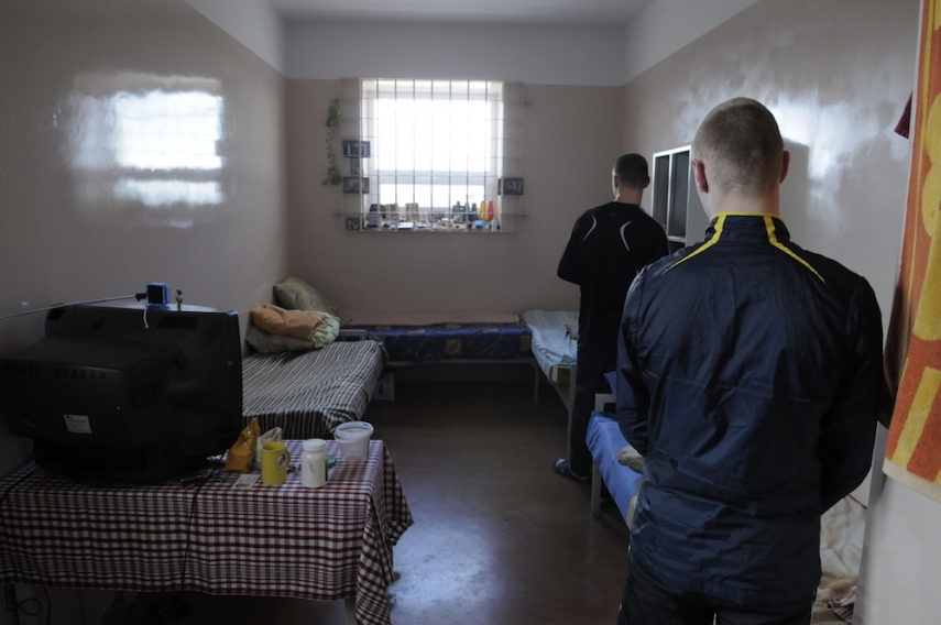 Inside a Lithuanian prison [Image: eeagrants.com]